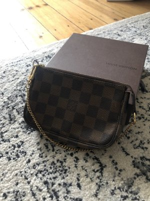 Louis Vuitton Mini Pochette Damier Rar Tasche Pochette Clutch