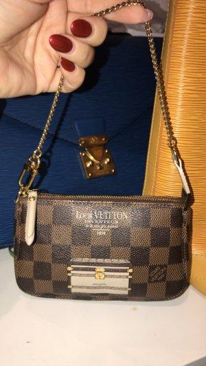 Louis Vuitton Mini sac multicolore lin