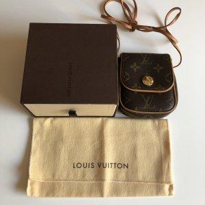 Louis Vuitton Borsa a spalla marrone-nero-color cammello