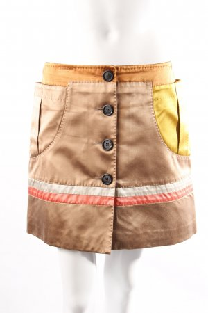 Louis Vuitton Miniskirt Button Facing
