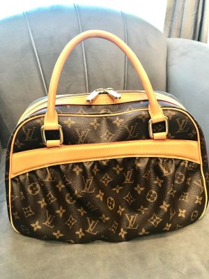 LOUIS VUITTON Mizi Handbag Bag Monogram Canvas M40058