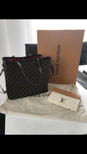 Louis Vuitton Sac en toile de jute brun coton