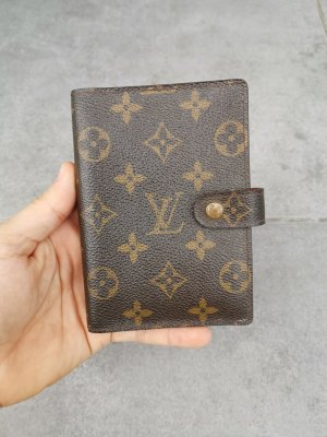 Louis vuitton monigram agenda/notebook