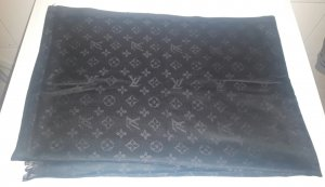 Louis Vuitton Monochrome Schal in schwarz