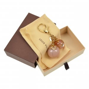 Louis Vuitton Monogram Ball Blush Bag Charm @mylovelyboutique.com