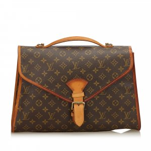 Louis Vuitton Bolso business marrón