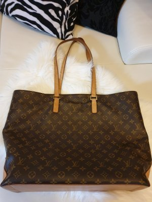 Louis Vuitton Monogram Cabas Mezzo Shopper GM