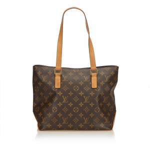 Louis Vuitton Bolso de compra marrón