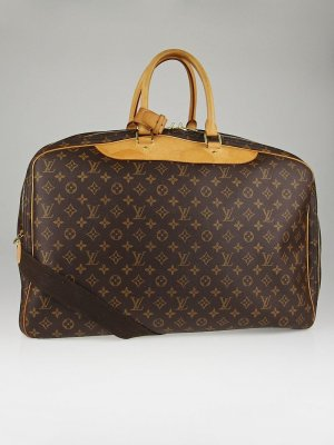 LOUIS VUITTON Monogram Canvas Alize 3 Poche Soft Suitcase