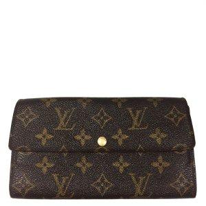 Louis Vuitton Monogram Canvas Geldbörse Geldtasche Portemonnaie