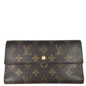 Louis Vuitton Monogram Canvas Geldbörse Organizer Geldbeutel Portemonnaie
