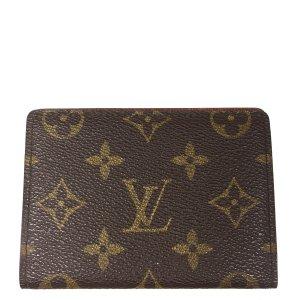 Louis Vuitton Monogram Canvas Kreditkartenetui Kartenetui Geldbörse