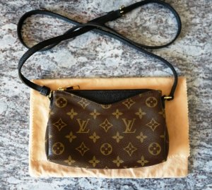 Louis Vuitton Monogram Canvas Pallas Clutch Vendeur Tasche crossbody Uniformes