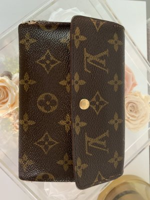 Louis Vuitton Wallet multicolored linen