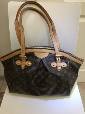 Louis Vuitton Sac bowling brun sable-marron clair