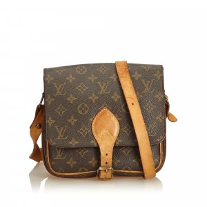 Louis Vuitton Monogram Cartouchiere PM