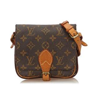 Louis Vuitton Monogram Cartouchiere PM
