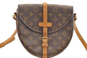 LOUIS VUITTON Monogram Chantilly MM Shoulder Bag M51233 LV Auth 5518