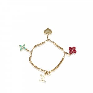 Louis Vuitton Monogram Charm Bracelet