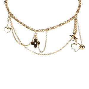 Louis Vuitton Monogram Charm Necklace