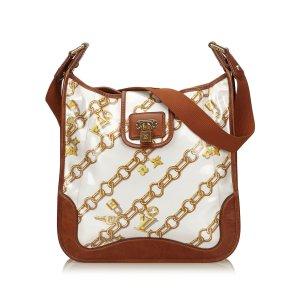 Louis Vuitton Sac porté épaule blanc chlorofibre