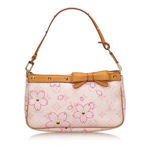 Louis Vuitton Monogram Cherry Blossom Pochette Accessories