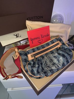 Louis Vuitton Monogram Denim Rayures blau Limited Edition Fullset