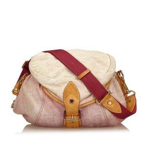 Louis Vuitton Sac porté épaule rosé coton