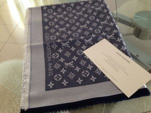 LOUIS VUITTON Monogram Denim Tuch*100% Original mit Rechnung
