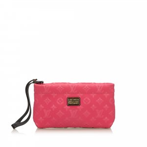 Louis Vuitton Monogram Embossed Scuba Clutch