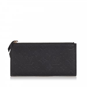 Louis Vuitton Monogram Empreinte Josephine Wallet Zippered Insert