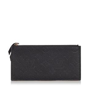 Louis Vuitton Monogram Empreinte Josephine Wallet Zippered Insert
