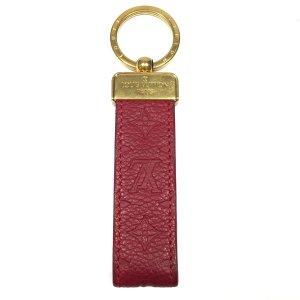Louis Vuitton Monogram Empreinte Leder In Fuchsia Schlüsselanhänger Dragonne