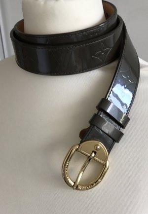 Louis Vuitton Monogram Gürtel Khaki Vernis