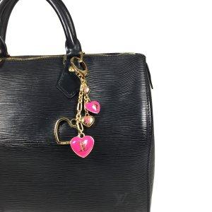 Louis Vuitton Monogram Hearts Anhänger Taschenschmuck Schlüsselanhänger