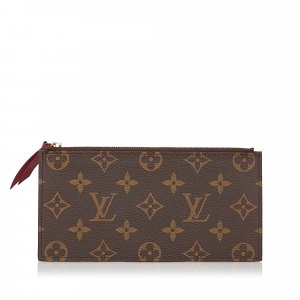 Louis Vuitton Monogram Josephine Wallet Zippered Insert