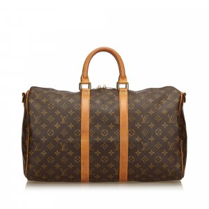 Louis Vuitton Monogram Keepall Bandouliere 45
