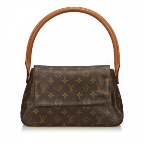 Louis Vuitton Borsetta marrone scuro