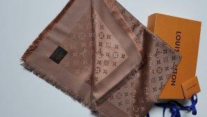 Louis Vuitton Écharpe en laine marron clair-brun