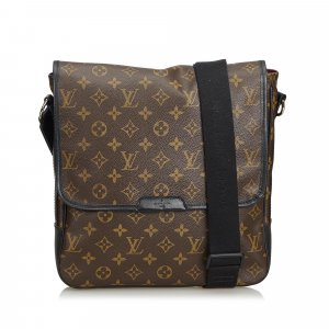 Louis Vuitton Monogram Macassar Bass MM