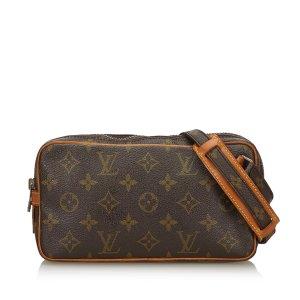 Louis Vuitton Bandolera marrón