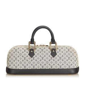 87662a5684f48 Louis Vuitton Monogram Mini Lin Alma Long