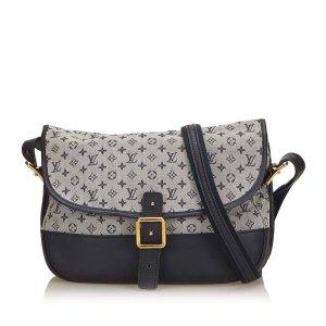 Louis Vuitton Crossbody bag green cotton