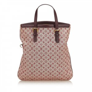 Louis Vuitton Tote pink cotton