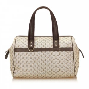 Louis Vuitton Handbag brown cotton