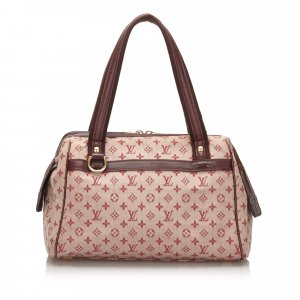 Louis Vuitton Handbag bordeaux cotton