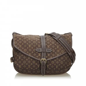 Louis Vuitton Monogram Mini Lin Saumur