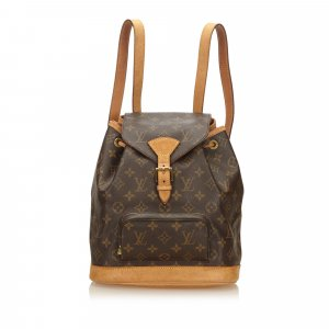 Louis Vuitton Mochila marrón