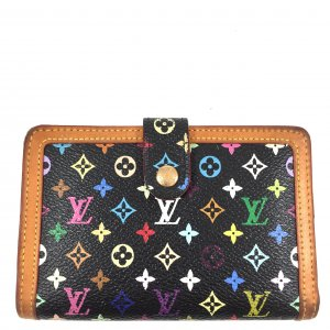 Louis Vuitton Monogram Multicolore Canvas Viennois Geldbörse Portemonnaie