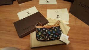 Louis Vuitton Monogram Multicolore Noir Pochette / Abendtasche / Clutch